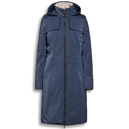Creenstone 'Bergonia' 100cm Coat - Blue Mist