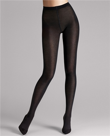 Wolford Merino Tights - Black  - Click to view a larger image