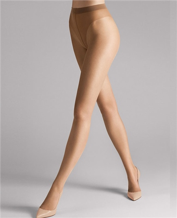 Wolford Tights Luxe 9 - Sand  - Click to view a larger image