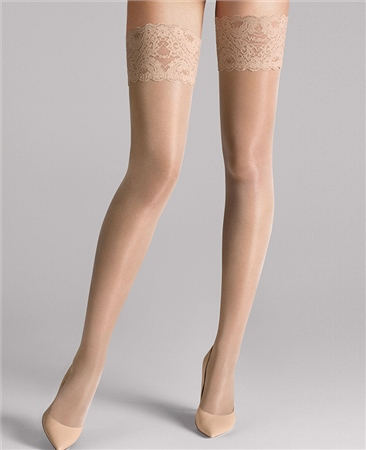 Wolford Tights Satin Touch 20 Stay-Up - Cosmetic