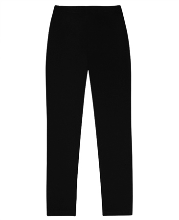 Georgede Pull On Wide Leg Trousers - Black