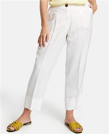 Gerry Weber Linen/Lyocell Blend 3/4 Length Trousers