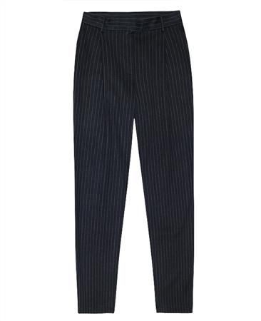 MaxMara Weekend Pinstripe Cropped Trousers