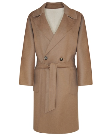 MaxMara Weekend Long Wool Reversible Coat