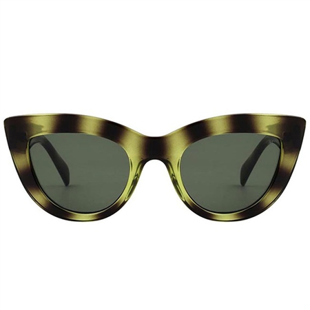 AKjaerbede 'Stella' Sunglasses - Demi Olive  - Click to view a larger image