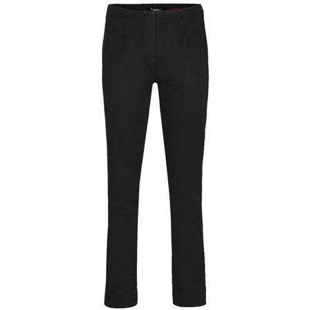 Robell 'Marie' 78cm Pull On Jeans - Black  - Click to view a larger image