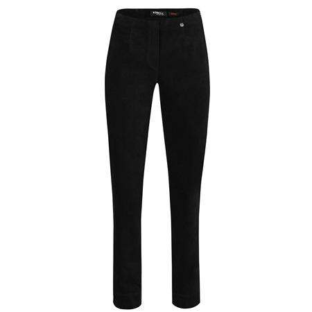 Robell 'Marie' 78cm Velvet Trousers - Black