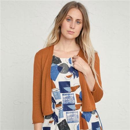 Seasalt 100% Cotton Vanessa Cardigan - Slipware  - Click to view a larger image