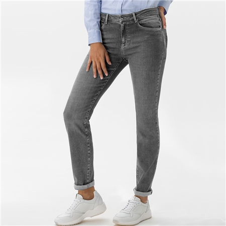 Brax 'Shakira' Slim Fit Jeans - Used Grey  - Click to view a larger image