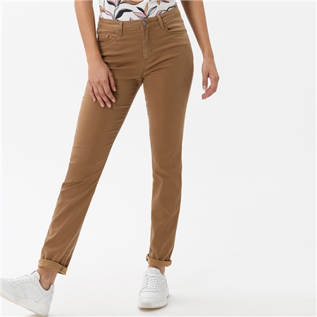Brax 'Shakira' Super Stretch Slim Fit Jeans - Chestnut  - Click to view a larger image