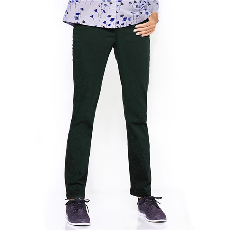 Toni 'Alice' Pull On Trousers - Emerald Green  - Click to view a larger image
