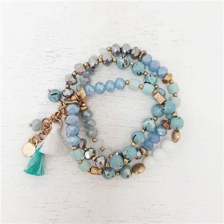 Envy Jewellery Beaded Bracelet Stack