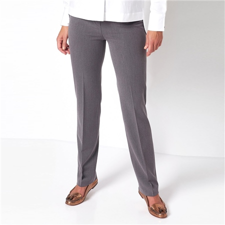 Relaxed by Toni 'Steffi' Classic Trousers - Graphite