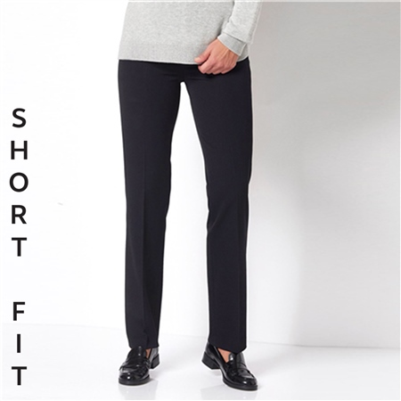 Toni 'Steffi' Short Fit Classic Trousers - Black  - Click to view a larger image