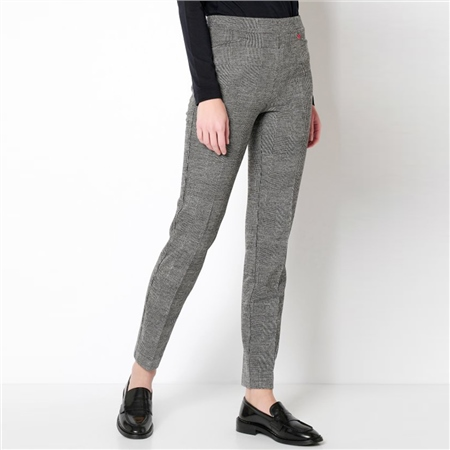 Toni 'Alice' Check Trousers - Carbon