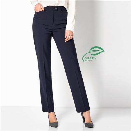 Toni 'Green by Toni' Classic Trousers - Dark Blue
