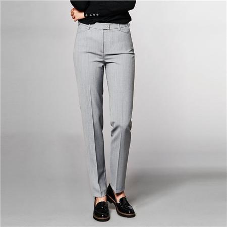 Toni 'Green by Toni' Classic Trousers - Light Grey