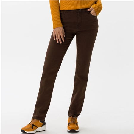 Brax 'Mary' Regular Fit Jeans - Brown  - Click to view a larger image