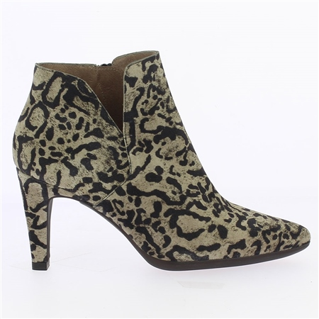 Wonders Animal Print Heeled Boots  - Click to view a larger image