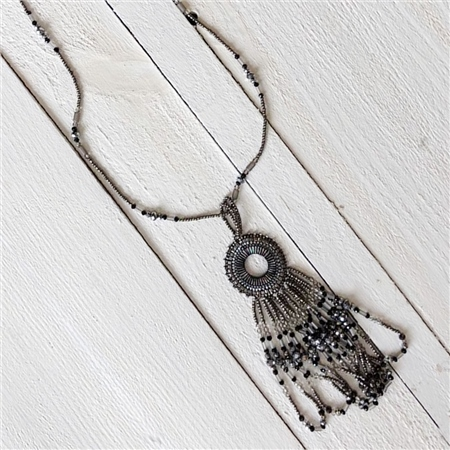 Envy Jewellery Beaded Dreamcatcher Necklace