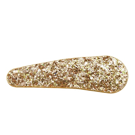 Hill & How Traditional Hair Clip - Gold Sparkle