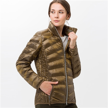 Brax 'Bern' Padded Coat - Olive  - Click to view a larger image