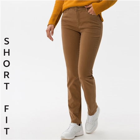 Brax 'Carola' Short Fit Jeans - Walnut  - Click to view a larger image