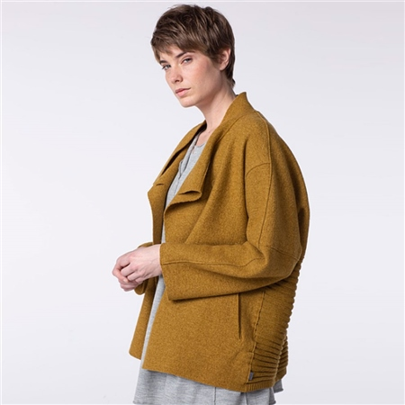 Oska 'Poza' 100% Virgin Wool Jacket - Honey  - Click to view a larger image