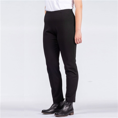 Oska 'Valla' Regular Fit Pull-On Trousers - Black  - Click to view a larger image