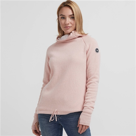 Holebrook 'Martina' Wool Windproof Jumper - Flamingo  - Click to view a larger image