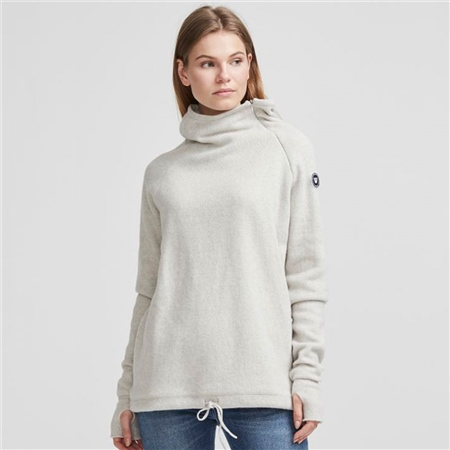 Holebrook 'Martina' Wool Windproof Jumper - Grey  - Click to view a larger image