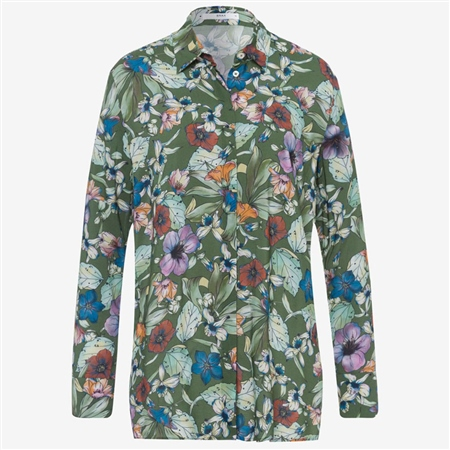 Brax Victoria' Floral Print Shirt - Multi  - Click to view a larger image