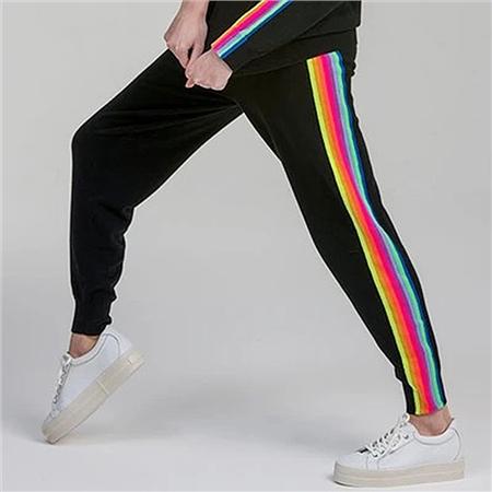 Brodie 'Ruby' NHS Rainbow Joggers - Charcoal Rainbow