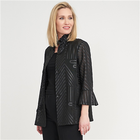 Joseph Ribkoff Textured Jacket  - Click to view a larger image