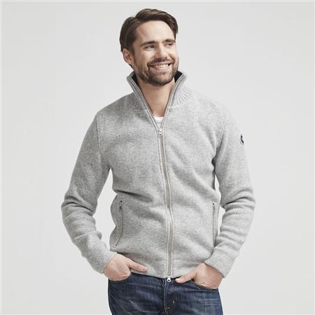 Holebrook 'Måns' Wool Windproof Jacket - Grey Melange