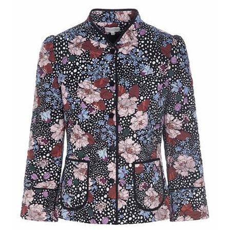 Dea Kudibal 'Rosy' Flowerfield Print Jacket