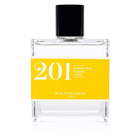 Bon Parfumeur Eau De Parfum 201 - Green Apple, Lily-Of-The-Valley and Quince  - Click to view a larger image