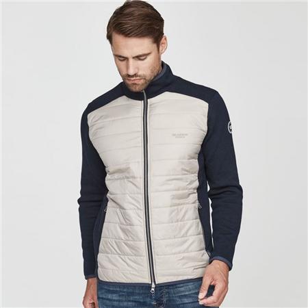 Holebrook 'Pedar' 100% Cotton Water Repellent Windproof Jacket - Navy/Khaki