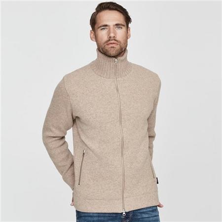Holebrook 'Måns' Wool Windproof Jacket - Khaki