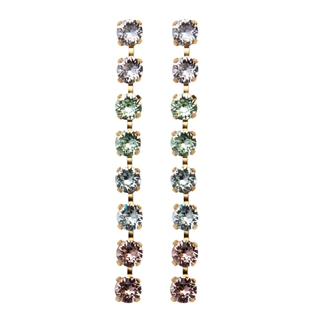 Caroline Svedbom 'Nicola' Swarovski Crystal Dangle Earrings - Pastel Combo 1