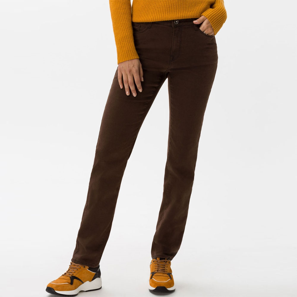 Brax 'Mary' Regular Fit Jeans - Brown 1