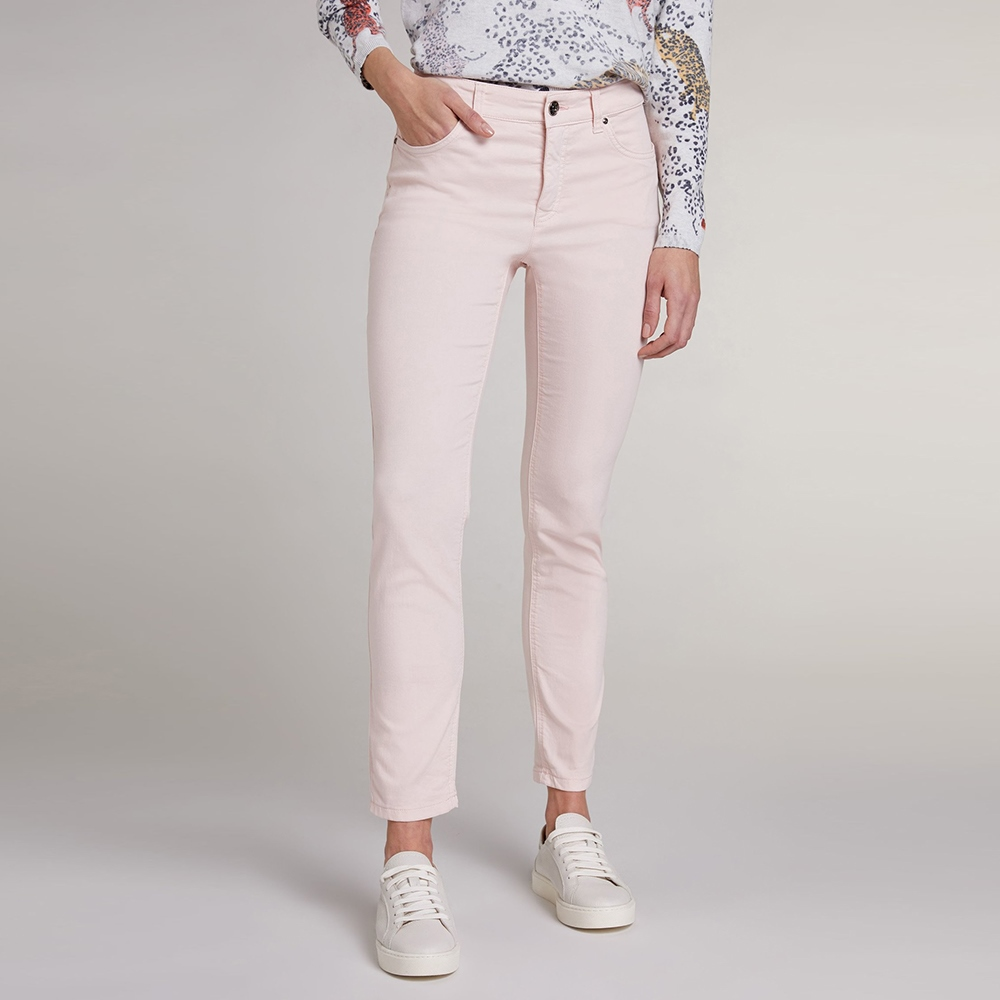 Oui 'Baxtor' Slim Fit Jeggings - Peach Whip 1